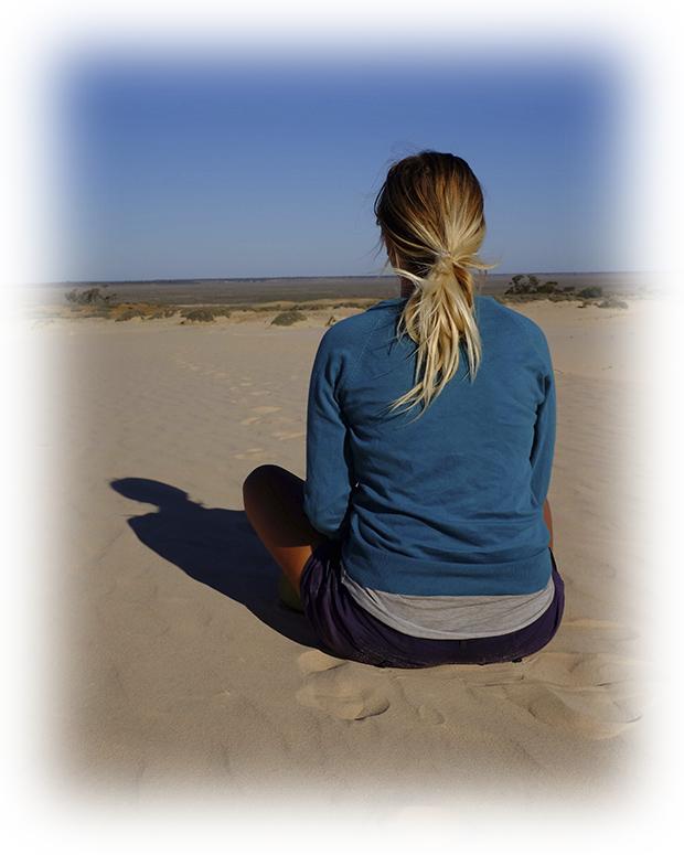 sahara meditación